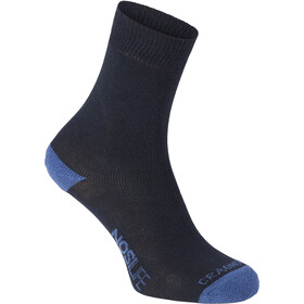 Craghoppers Single NosiLife Travel Socks Herre dark navy/soft denim
